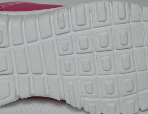 Kinder Klettverschluß pink Pink leicht 25 Sportschuhe 36 sehr Gr mit BS7Bq