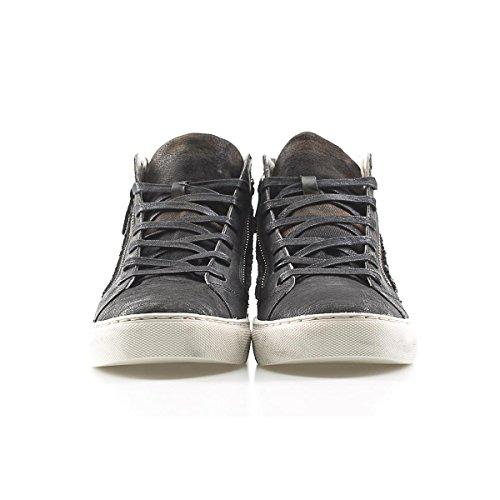Crime Uomo Crime Alta Size London 40 Sneakers London Canvas rc6qHr