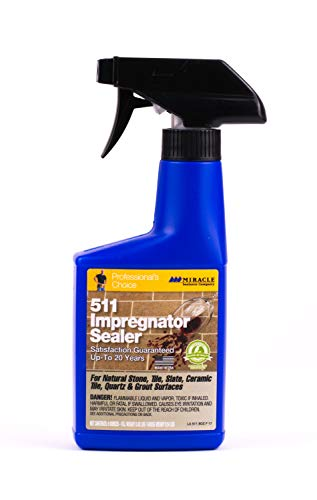 Miracle Sealants 511 Impregnator The Original Impregnating Sealer 237ml (US 8oz) by Miracle Sealants