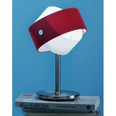 Zaneen Lighting D8-4116 Large Tourbillon Table Lamp, Nickel