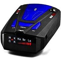 Lazaga Radar Detector,Radar Detector Voice Alert Car Speed Alarm System 360 Degree Detection (A)