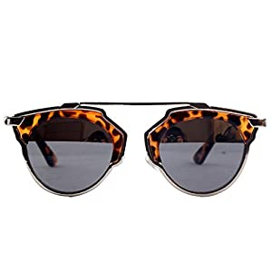 GUGGE Womens Featured All Match Fashion Sunglasses