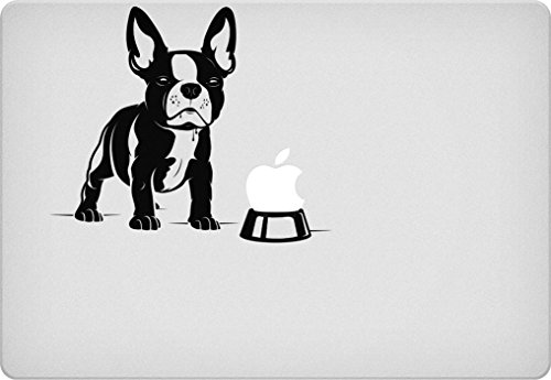 French Bulldog Bowl Macbook Decal (French Bulldog Sticker compare prices)