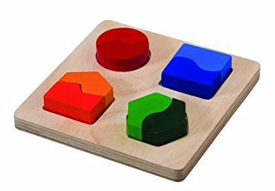 Plan Toys Preschool Series Shape Matching Board from Plan Toys