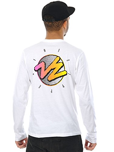 Von Zipper Langarm Shirt The Sunrise Weiß
