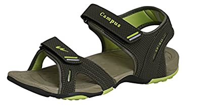 59908cbaf6d Campus Spiro Mehandi Men Sandal Size- 10 Green  Buy Online at Low ...