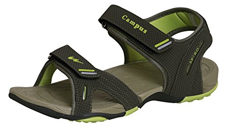 Campus Spiro Mehandi Men Sandal Size- 10 Green  Buy Online at Low Prices in  India - Amazon.in c65ca03eb25d