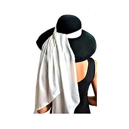 Utopiat Hat, Audrey Hepburn Breakfast at Tiffany's, Oversized,