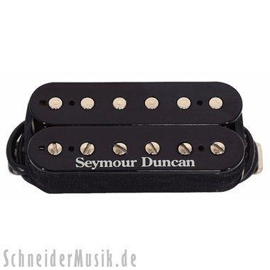 Seymour Duncan - 11103-17-Z - TB-5 Duncan Custom Trembkr Zebra 5 String Heavy Bass Bridge