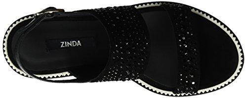 Zinda 2830, Sandali Donna Nero (Nero )