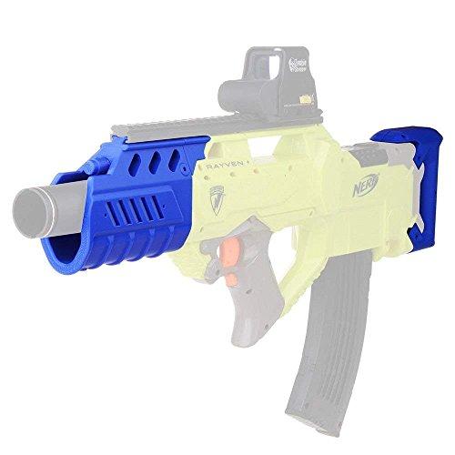 Do co-sport Worker F10555 3D Printed Luminous Modify Kits for Nerf N-Strike Rayven CS-18 Blue by Do co-sport