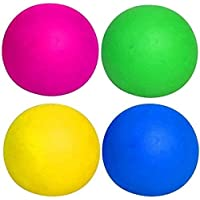 Xingchen 4 Color Fluorescent Sticky Balls Sticky Wall Balls Decompression Toys Globbles Sticky Balls Stress Relief Wall…