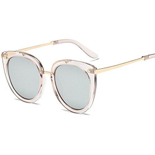 Sol Color Pat Gafas Brillante de Sol Gran Tendencia Sol Hombre creativos de Regalos Gafas de Gran Gafas F Mujer Street y Axiba PUfYFqwvw