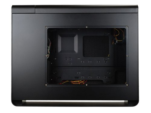 Silverstone Tek FT02B-W-USB3.0 Aluminum ATX Mid Tower Uni-Body Frame Computer Case with 2X USB3.0 Front Ports with Window Side Panel Cases (Black) by SilverStone Technology