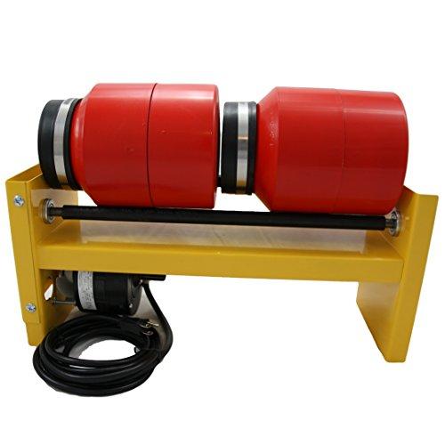 MJR Tumblers Dual Barrel 20 lb Tumbler