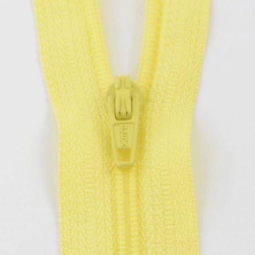 Nova S3//9in//LEM 23cm Lemon 1503 Nylon Closed End Dress Zip 9in