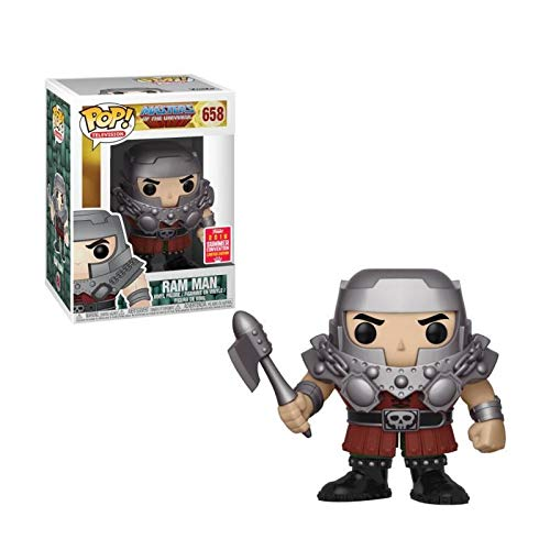 (Funko Pop! Television: Masters of the Universe - Ram Man Vinyl Figure (2018 Convention Exclusive))