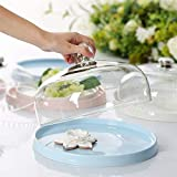 Pudding Ice Cream Dome, Household Glass Dust Cover