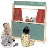 Steffy Wood Products Puppet Theatre/Store, Chalkboard