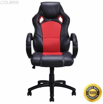 W X D red Load capacity Height from ground to Seating Area COLIBROX--High Back Race Car Style Bucket Seat Office Desk Chair Gaming Chair Red New Color 550 LBS Seating Area Dimension 20 x20