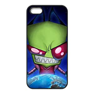 Invader Zim Black Phone Case for iPhone 5S