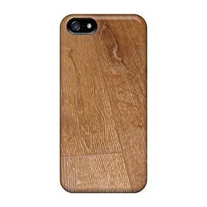 Anti-scratch And Shatterproof Country Look Wooden Floor Phone Case For Iphone 5/5s/ High Quality Tpu Case by mcsharks