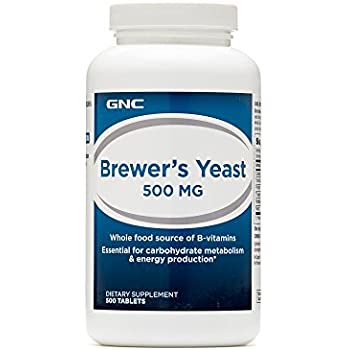 GNC Brewers Yeast 500 MG