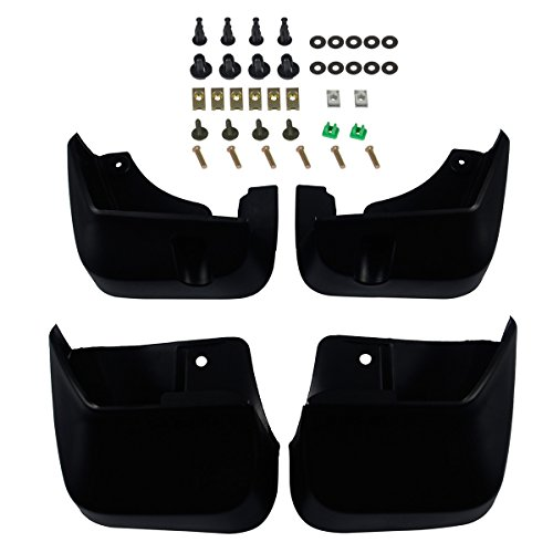 A-Premium Splash Guards Mud Flaps Mudflaps for Subaru Forester 2009-2013 Front and Rear 4-PC Set