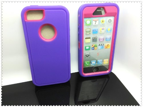Iphone Silicone Hybrid iPhone Purple