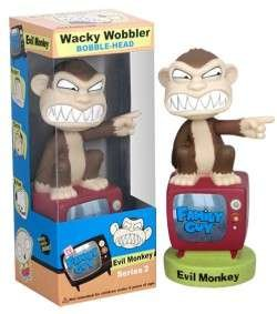 Family Guy Series 2 Limited Edition Glow in the Dark Evil Monkey Wacky ()