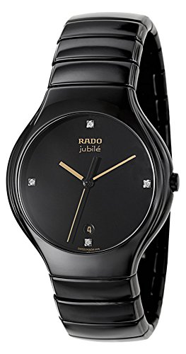 Rado-True-Jubile-Black-Ceramic-Mens-R27653752