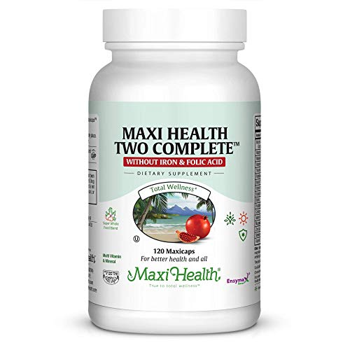 Maxi Two Complete -easy digested without iron 120 Capsules