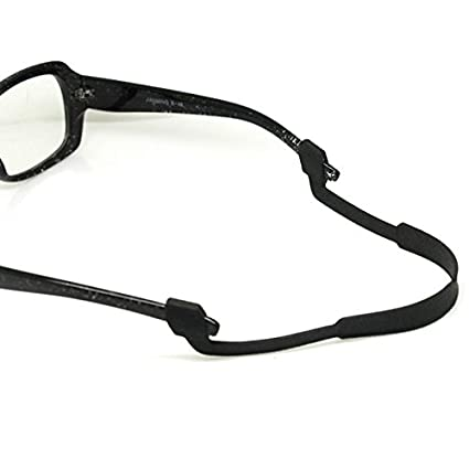 02bfe83e1a Amazon.com  Tinksky Eyeglasses Sunglasses Anti Slip Elastic Silicone Strap  (Black)  Sports   Outdoors
