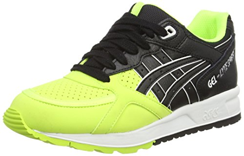 Speed Gel 0790 Unisex Black Asics Yellow Yellow Trainers Saffety Adults' Lyte HwxqqESdFR