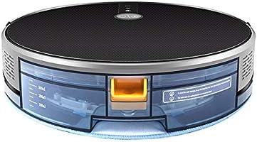 YBZS Robot Aspiradora, Mapa De Navegación, 3000Pa Succión, Smart ...