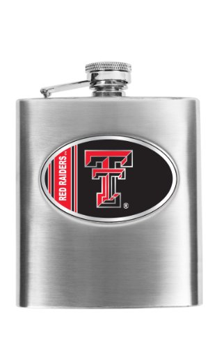 (NCAA Texas Tech Red Raiders Hip Flask)