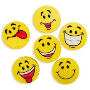 (Fun Express Large Smile Face Erasers (4 Dozen))