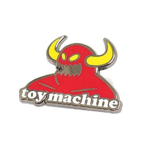 帰する名目上の約束するTOY MACHINE BADGE トイマシーン バッジ MONSTER LAPEL PIN