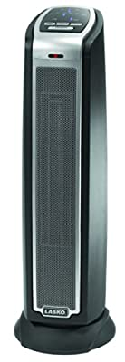 Lasko 5790 Oscillating Ceramic Tower Heater with Remote Control