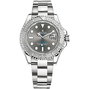 Best Epic Trends 41joFujY9uL._SS300_ Rolex Dark Rhodium Dial 40 mm Mens Watch - Yacht-Master 40 116622