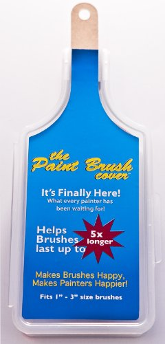 The Paint Brush Cover. Professional Painting Brush Holder / Case. Holds 1