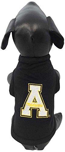 NCAA Appalachian State Mountaineers Cotton Lycra Dog Tank Top, Medium