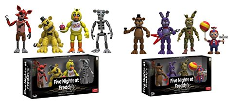 Funko Five Nights At Freddys 4 Collectible Figure Pack 2  Set  1 And Set  2