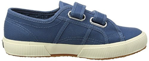 Superga2750 Jvel Classic, Zapatillas Unisex Infantil Blue (smoky Blue)