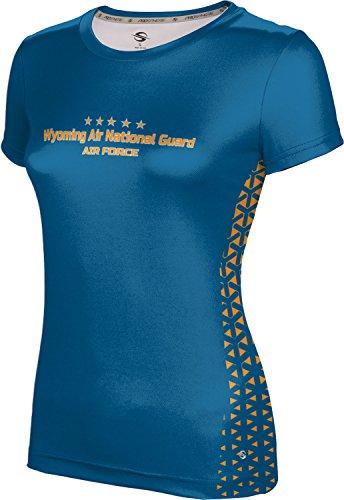 ProSphere Girls' Wyoming Air National Guard Military Geometric Shirt (Apparel)