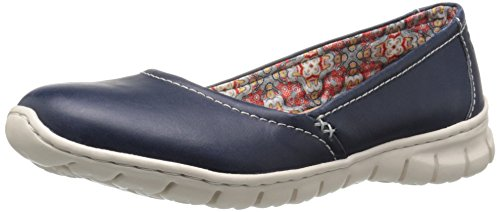 Skimmer Leather Skechers Flat White Outsole Leather Womens Skechers Navy Flat Skimmer Navy Womens 1ZFqwAS