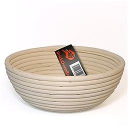 BrickOvenBaker 9-inch Round Banneton Proofing Basket