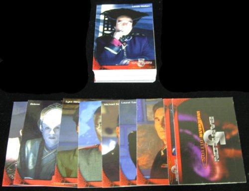 1997 Skybox Babylon 5 Special Edition Trading Card Set (70)