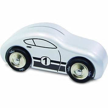 Amazon.com: Vilac – Hucha en forma de coche de carreras: Baby