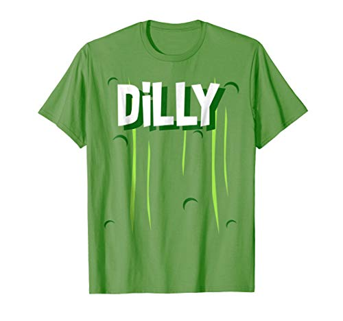 Dilly Pickle Halloween Costume Shirt Funny Quick Easy]()